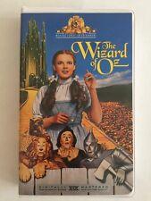 The Wizard of Oz VHS Digitally Mastered THX EUC