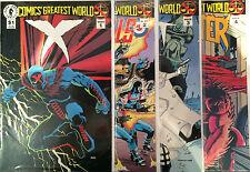 Comics' Greatest World Arcadia #1-4 Set QUASI NUOVO 1 ° Stampa Dark Horse