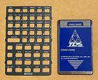 TDS COGO Card for HP 48GX Calculator (Version 4.1)