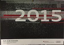 Audi Sport Motorsport Kalender 2015 S-Line