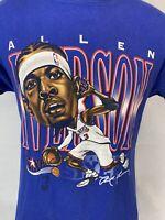Allen Iverson T Shirt Philadelphia 76ers Mitchell & Ness Medium The Answer NBA