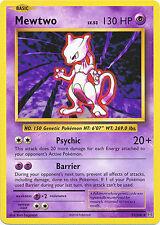 Mewtwo Rare Pokémon Individual Cards
