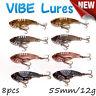 8X Fishing Switchblade Blade VIBE VIB Metal Lures 55mm 11g Bream Bass Flathead