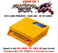 NEW Pandora Box cx 2800 in 1 arcade games version jamma pcb game board HDMI VGA