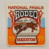 1976 NFR Rodeo Patch National Finals Vintage Bronc Rider Hesston