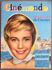 ►CINE MONDE 1238/1958-MARIA SCHELL-BRIGITTE BARDOT-ALAIN DELON-CHARLTON HESTON..