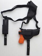 Gun Shoulder Holster for RUGER SR22 with Underbarrel Laser & single Mag Pouch