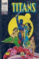 BD--TITANS N° 143--STAN LEE--SEMIC / DECEMBRE 1990
