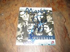 MANA Signed MTV UNPLUGGED DVD/CD BOOKLET fher olver