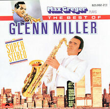 Max Greger Plays The Best Of Glenn Miller CD VG+ In The Mood etc West Germany