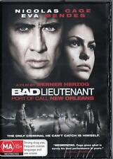 BAD LIEUTENANT - NICOLAS CAGE -  NEW REGION 4 DVD FREE LOCAL POST