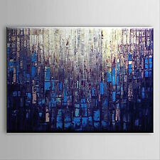 YAKAI Hand-painted Abstract Oil Painting Canvas Wall Art Deco(24x36in No Frame)
