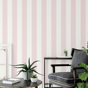 Pink Stripes Wallpapers For Sale Ebay
