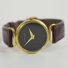Antike Cartier GG-Uhr by PIAGET 1970ties, 18KT GELBGOLD Cal.21 EXTRA PLATE