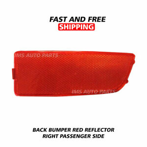 Freightliner Sprinter 250 350 Back Bumper Red Reflector Right Passenger 2007-18