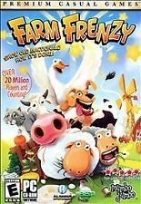 FARM FRENZY (2009) PC CD-ROM NEW & FACTORY SEALED
