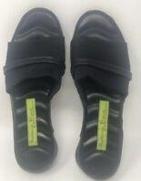 Materia Prima By Goffredo Fantini Italy Black Women's Slip On Sandals US 8.5 - 9