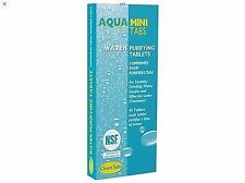 Aqua Clean Mini Tabs Bottle Water Purification Purifying Tablets 40 pcs