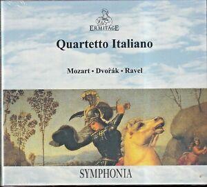 EBOND Quartetto Italiano - Mozart, Dvorak, Ravel DIGIPACK CD 5010