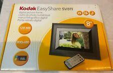 """New Kodak EasyShare SV811 8"""" Digital Picture Frame"""