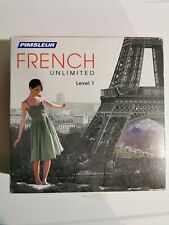 Pimsleur Unlimited FRENCH Language Level 1 Course