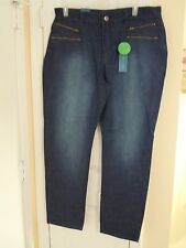 Women's Plus Size 20W Tummy Slimmer Blue Jeans 65% OFF New With Tags  NICE ! !
