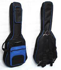 Gig Bag- Gitarrentasche gepolstert GB30 blau-15mm,Western-Akustik/Roundback MSA