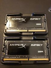 HyperX Kingston Technology Impact 32GB SODIMM DDR4 Memory (2x16GB) 2400MHz
