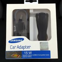 New In Box OEM Samsung Galaxy S6 S7 Edge Note 4 5 Adaptive Fast Car Charger Lot