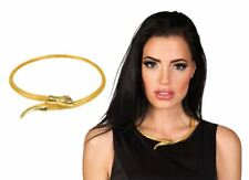Ladies Snake Asp Necklace Queen Cleopatra Egyptian Fancy Dress Costume Accessory