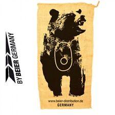 Schießsack Bär Schieß - Sack ca. 54 x 102cm Jutesack 3D Ziel Bogensport