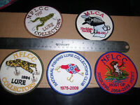 Large Patch bagley reb rare find nflcc and others choose 1 - frog lure collector