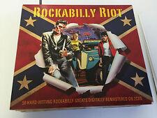 Various Artists: Rockabilly Riot (CD) 2 CD 5060255181225