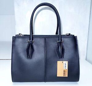 ** Exquisiter Shopper von TOD´s  Shopping Due Zip Piccola NEU schwarz