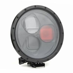 Dome Port Underwater Case with Red Filter Lens for GoPro Hero 7 6 5 Black