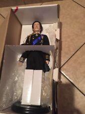 Prince Charles Bridegroom Porcelain Doll Royal Wedding Danbury Mint