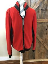 Gaastra Nautical Supplies Mens Sz XXL Long Sleeve Full Zip Red Jacket TP 52 680