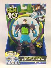 New Ben 10 Ben-To-Shockrock Transforming Figure