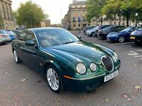 2006 Jaguar Stype 2.7 TDVi Rare Sunroof *NAV* British Racing Green ££££'s spent