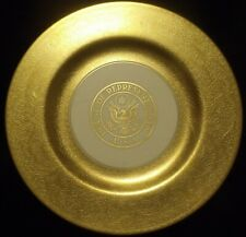 Pickard China House of Representatives USA Gold Etched 10 1/2 inch plate