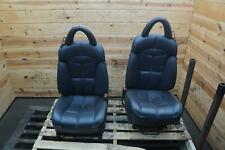 Set of 2 Left Right Driver Passenger Seat Black (LLAZ) Plymouth Prowler 2000-02