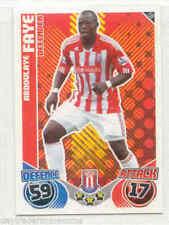 Topps Stoke City 2010 Season Soccer Trading Cards
