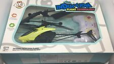 Infrared Induction Helicopter Toys Aircraft Remote Control Airplanes - Yellow