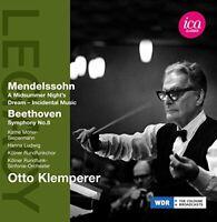 Käthe Möller-Siepermann - Mendelssohn/ Beethoven: Otto Klemperer [CD]