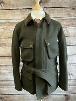 MINT | Ralph Lauren Purple Label Belted Field Jacket Size L Wool Cashmere