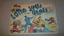 12 TAVOLE ORIGINALI + COPERTINA DI VITTORIO COSSIO ** STORIA COMPLETA ** 1944