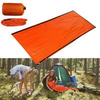 Notschlafsack Thermisch Wasserdicht Für Outdoor Survival Camping Wandern NEU