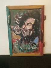 AUTHENTIC Bob Marley Finger Painting