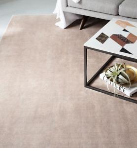 John Lewis & Partners LUCENT Dusty Blush Rug - 244cm x 305cm ***RRP £999***