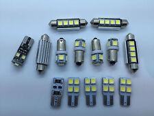 AUDI A6 4F C6 S6 RS6 SEDAN FULL LED Interior Lights KIT 14 pcs SMD Bulbs White